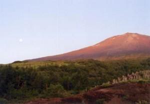 富士山・須走口より